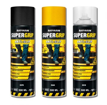 Rust-Oleum - Hard Hat - Anti-Slip - Spraymaling - Sikkerhedsgul - 500 ml