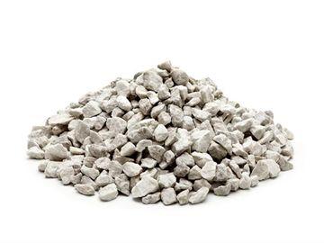 Hvide granitskærver - 11-16 mm - 1 m3 - Ca. 1.500 kg - big bag - Linolie 1-2-3