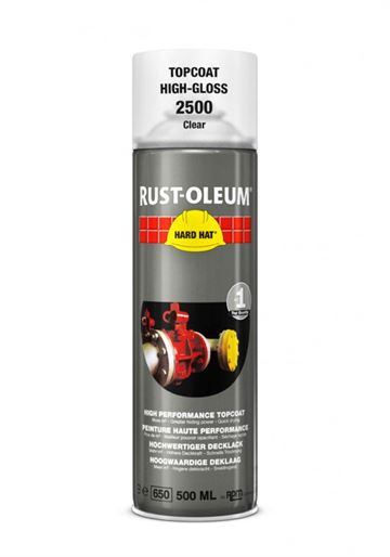 Rust-Oleum - Hard Hat - Spraymaling - Klar - 500 ml