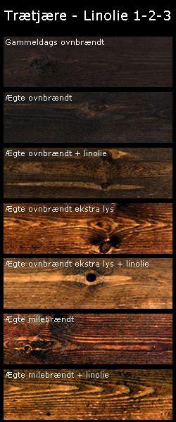 linolie træbeskyttelse